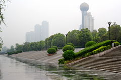 Embankment of the Yangtze River. Royalty Free Stock Image