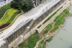 Embankment of yangtze river Royalty Free Stock Images
