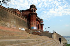 Embankments  of the Ganges, Varanasi, India Stock Photography