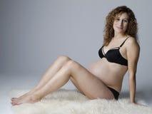 Embarazada Imagenes de archivo