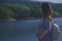Embarazada Imágenes de archivo libres de regalías