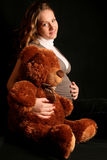 Embarazado Foto de archivo