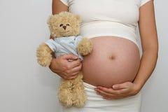 Embarazado Imágenes de archivo libres de regalías