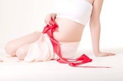 Embarazo fotografía de archivo libre de regalías