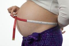 Embarazo Foto de archivo libre de regalías