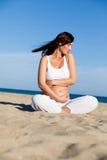 Embarazo sano Fotografía de archivo libre de regalías