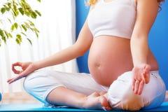 Embarazo sano Imagen de archivo libre de regalías