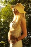 Embarazo temprano Fotografía de archivo