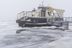 A embarcação congelada Imagens de Stock Royalty Free