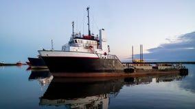 Embarcação da fonte da plataforma imagens de stock