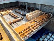 Embarcação de aço Fotos de Stock