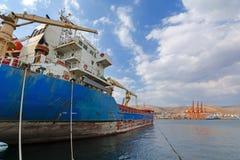 Embarcação de carga Imagens de Stock Royalty Free