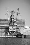 Embarcação de carga do vintage Imagem de Stock