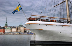 Embarcação de navigação. Fotos de Stock