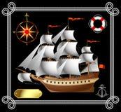 Embarcação de navigação Imagem de Stock