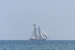 Embarcação de navigação Fotografia de Stock