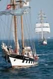 Embarcação de navigação Brabander foto de stock