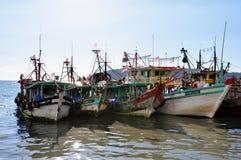 Embarcação de pesca malaia Imagem de Stock Royalty Free