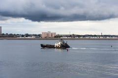 Embarcação de pesca Wando River Fotografia de Stock Royalty Free