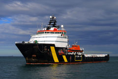 Embarcação de salvamento à espera A Imagem de Stock
