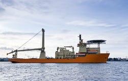 Embarcação de sustentação do mergulho fotos de stock