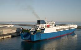 Embarcação do ro do Ro Imagens de Stock Royalty Free