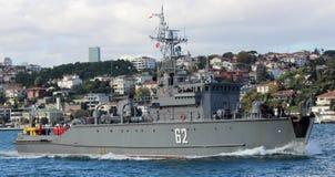 Embarcação militar Foto de Stock Royalty Free