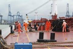 Embarcação na amarração Foto de Stock Royalty Free