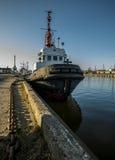 Embarcação no porto Fotografia de Stock Royalty Free