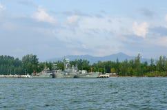 Embarcação real em Tailândia fotos de stock royalty free