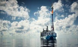 Embarcação traseira da vista durante a tarde imagem de stock royalty free
