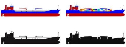 Embarcações do oceano Imagens de Stock