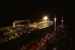 Embarcações para o transporte do óleo Foto de Stock Royalty Free
