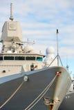 Embarcación con el arma Imagen de archivo libre de regalías