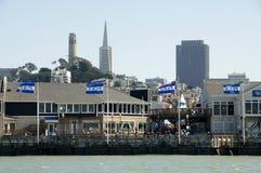 Embarcadero 39 en San Francisco imágenes de archivo libres de regalías