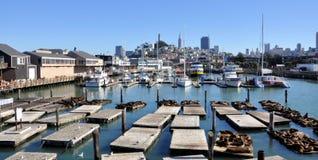 Embarcadero 39 San Francisco Imagen de archivo libre de regalías