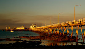 Embarcadero Broome imagen de archivo