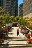 Embarcadero centrum w San Fransisco Zdjęcia Stock