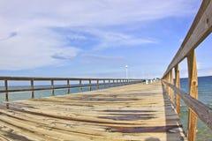 Embarcadero comercial en Fort Lauderdale, la Florida Foto de archivo