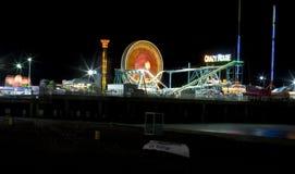 Embarcadero de acero de la diversión del embarcadero - Atlantic City NJ Fotografía de archivo