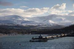 Embarcadero de Bangor Foto de archivo