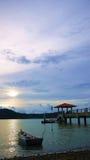 Embarcadero de Batu Musang Imágenes de archivo libres de regalías