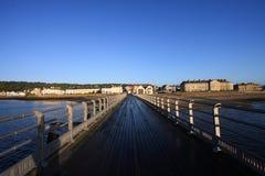 Embarcadero de Beaumaris Fotos de archivo libres de regalías