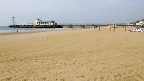 Embarcadero de Bournemouth almacen de metraje de vídeo