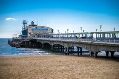 Embarcadero de Bournemouth fotografía de archivo libre de regalías