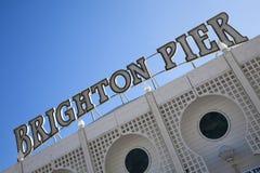Embarcadero de Brighton Imagenes de archivo