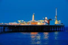 Embarcadero de Brighton, Inglaterra Fotografía de archivo libre de regalías
