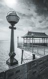 Embarcadero de Clevedon Fotografía de archivo