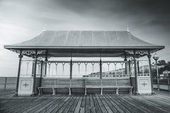Embarcadero de Clevedon Fotos de archivo