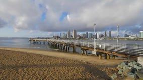 Embarcadero de Coronado en San Diego - CALIFORNIA, los E.E.U.U. - 18 DE MARZO DE 2019 almacen de video